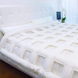 letto con la coperta smartduvet