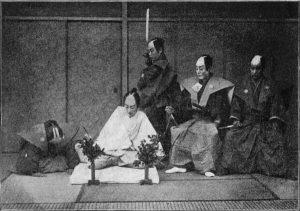 cerimonia tradizionale giapponese del seppuku