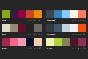 schema di abbinamento colori
